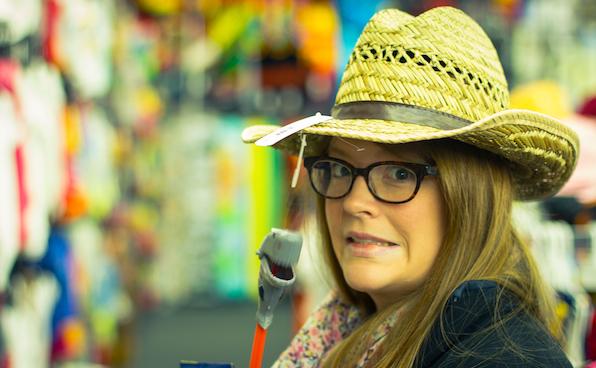 Amanda's Spiffy New Hat